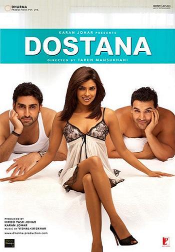 Дружба / Dostana (2008) DVDRip